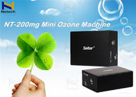 Black  Mini 200mg Commercial Ozone Generator Automatic Fault Detection For cleanr