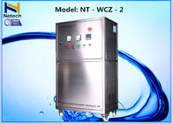 2400 L / Hr Movable Water Ozone Machine Ozonator For Mineral Water Factory