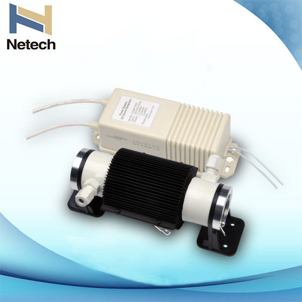 High concentration ozone generator parts air cooling ceramic tube / ozone generator tube